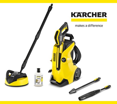 win a karcher k4 full control home pressure washer bella. Black Bedroom Furniture Sets. Home Design Ideas