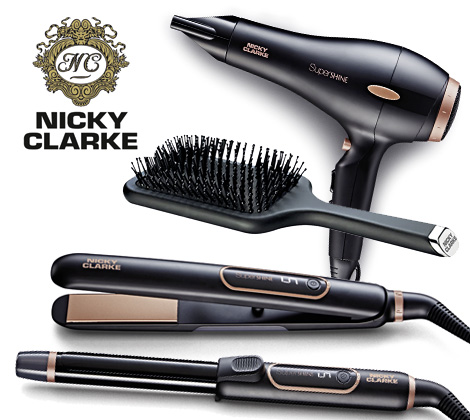 Win A Nicky Clarke Supershine Hair Care Set Bella