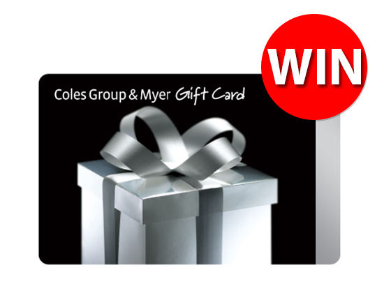 Baby Gift Myer : Win a coles myer gift card sweepon