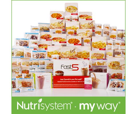 Nutrisystem fast five diet plan with shakes