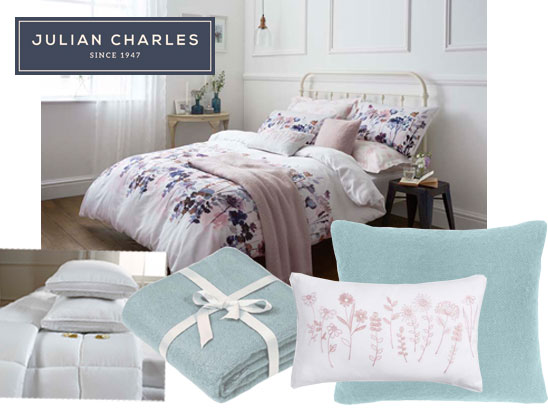Win Julian Charles Collection Of Bed Linen Bella