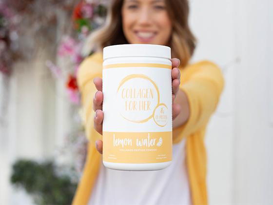 Win Collagen for Her: Lemon Water!